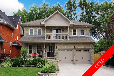 South east Ajax 2 storey home for sale:  4 bedrooms, 5 bathrooms, 2,835 sq.ft.