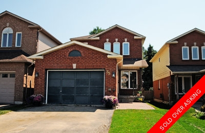 Bowmanville 2 storey home for sale:  3 bedrooms, 3 baths 1,437 sq.ft.