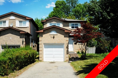 South West Ajax 2-Storey for sale: 3 bedroom (Listed 2015-07-17)