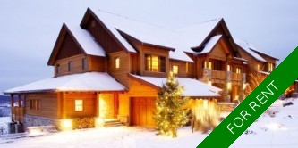 Mont Tremblant 2-Storey for rent: Elysium Legendes 4 bedroom 3,000 sq.ft.